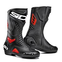 Sidi Performer Boots (Black/Red) -Special Order
