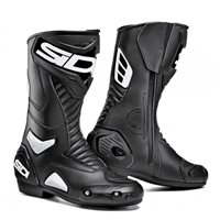Sidi Performer Boots (Black/White) -Special Order