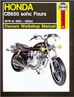 Haynes  Manual 665 HON CB650 sohc FOURS 78-84