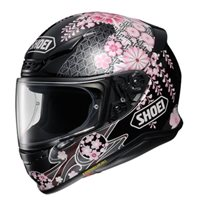 Shoei NXR Harmonic TC-10 Motorcycle Helmet (Black|Pink)