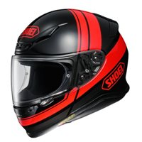 Shoei NXR Philosopher TC-1 Motorcycle Helmet (Black|Red)