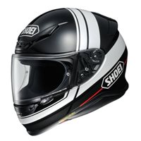 Shoei NXR Philosopher TC-5 Motorcycle Helmet (Black|White)