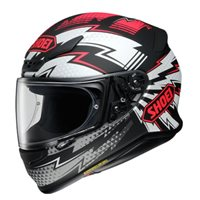 Shoei NXR Variable TC-1 Motorcycle Helmet (Black|White|Red)