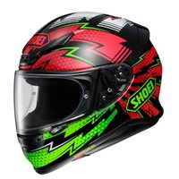 Shoei NXR Variable TC-4 Helmet (Black|Green|Red)