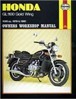 Haynes  Manual 669 HON GL1100 Gold WING