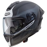 Caberg Drift Evo Carbon Helmet (Matt Anthracite|White)