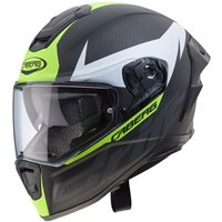 Caberg Drift Evo Carbon Helmet (Matt Anthracite|Yellow)
