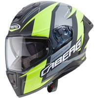 Caberg Drift Evo Speedstar Helmet (Matt Anthracite|Yellow)