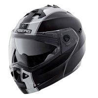 Caberg Duke II Legend Flip Front Helmet (Black|White)