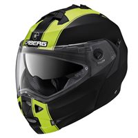 Caberg Duke II Legend Flip Front Helmet (Matt Black|Flo Yellow)