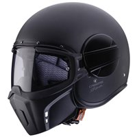 Caberg Ghost Open Face Helmet (Matt Black)
