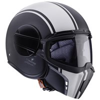 Caberg Ghost Legend Open Face Helmet (Matt Black|White)