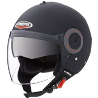 Caberg Riviera Open Face Helmet (Matt Black)