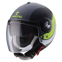 Caberg Riviera Sway Helmet (Matt Anthracite|Black|Yellow)