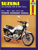Haynes  Manual 736 SUZ GS/GSX250 & 400 TWINS