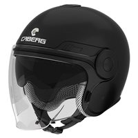 Caberg Uptown Open Face Helmet (Matt Black)