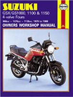Haynes  Manual 737 SUZ GS/GSX 1000 & 1100 FOURS