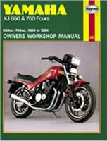 Haynes  Manual 738 YAM XJ650/750 FOURS