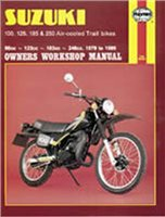 Haynes  Manual 797 SUZ TRAILS BIKES 100-250cc '79-'81