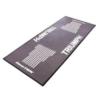 Motorcycle Garage Mat Series 3 Triumph Logo by Bikeit