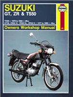 Haynes  Manual 799 SUZ GT; ZR & TS50 77-90