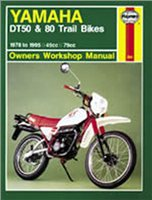 Haynes  Manual 800 YAM DT50/80 TRAIL BIKES