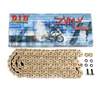 DID 525 ZVM Gold Heavy Duty X Ring Chain (108 Links)