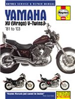 Haynes  Manual 802 YAM XV750;XV920 & TR1.V-TWINS 81-03