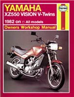 Haynes  Manual 821 YAM XZ550 VISION V-TWINS