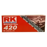 RK 420 Motorcycle Chain (122 Link)