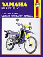 Haynes  Manual 887 YAM RD/DT125LC