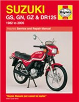 Haynes  Manual 888 SUZ GS125 & DR125