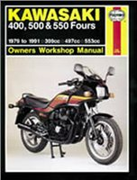 Haynes  Manual 910 KAW 400;500 & 550 FOURS