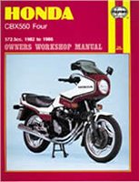 Haynes  Manual 940 HON CBX550
