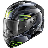 Shark D-SKWAL Mercurium Helmet (Black|Grey|Green)
