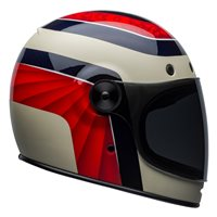 Bell Bullitt Carbon Hustle Helmet (Red|White|Candy Blue)