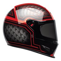 Bell Eliminator Outlaw Helmet (Black|Red)