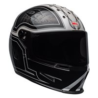 Bell Eliminator Outlaw Helmet (Black|White)