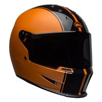 Bell Eliminator Rally Helmet (Black|Metallic Orange)