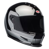 Bell Eliminator Spectrum Helmet (Matte Black|Chrome)