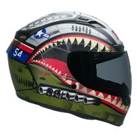 Bell Qualifier DLX Mips Devil May Care Helmet (Matte Olive)