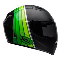 Qualifier DLX Mips Illusion Helmet (Black|Green) by Bell