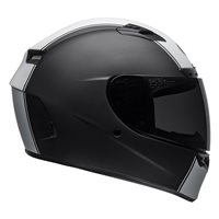 Bell Qualifier DLX Mips Rally Helmet (Matte Black|White)