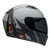 Bell Qualifier Integrity Helmet (Camo Titanium|Orange)