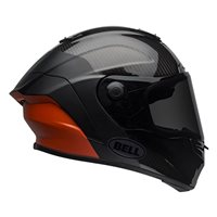 Bell Race Star DLX Carbon Helmet (Black|Orange)