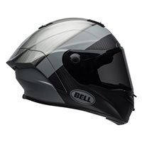 Bell Race Star Surge Helmet (Brushed Metal|Grey)
