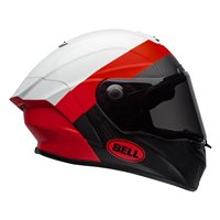 Bell Race Star Surge Helmet (White|Red)