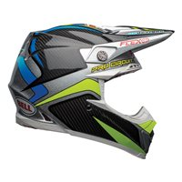 Bell Moto-9 Flex PC Replica Helmet (Black|Green)