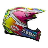 Bell Moto-9 Flex Tagger Mayhem Helmet (Green|Black|White)