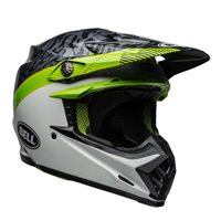 Bell Moto-9 Mips Chief Helmet (Black|White|Green)